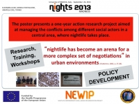 Convegno NIGHTS2013. Health, pleasure and communities - Padova, 25-27 Settembre 2013